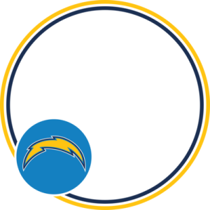 Los Angeles Chargers NFL Profile Photo Frame