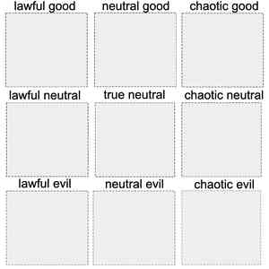 Alignment Chart Template