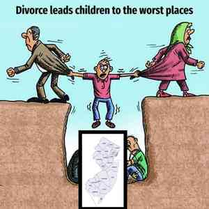 Divorce Leads Children To The Worst Places Meme Template Blank