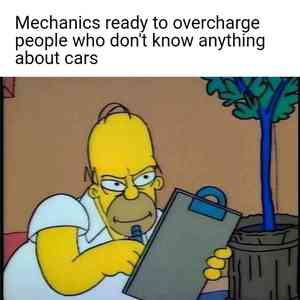 Evil Homer Simpson With A Clipboard Meme Template