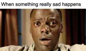 Get Out Crying Meme