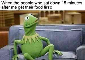 Kermit on the Couch Meme Maker