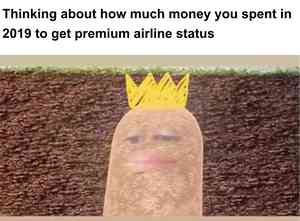 Potato with Crown Zoom Call Meme Maker