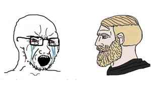 Soyboy Vs Yes Chad Template