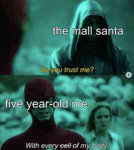 """The Flash And Green Arrow """"Do You Trust Me?"""" Meme Template"""