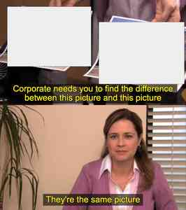 They're the Same Picture Meme Maker
