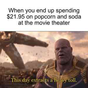 This Day Extracts A Heavy Toll Thanos Meme Maker