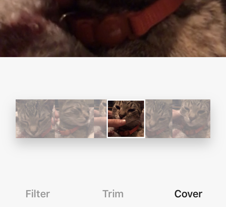 Adding a Custom Thumbnail to an Instagram Video
