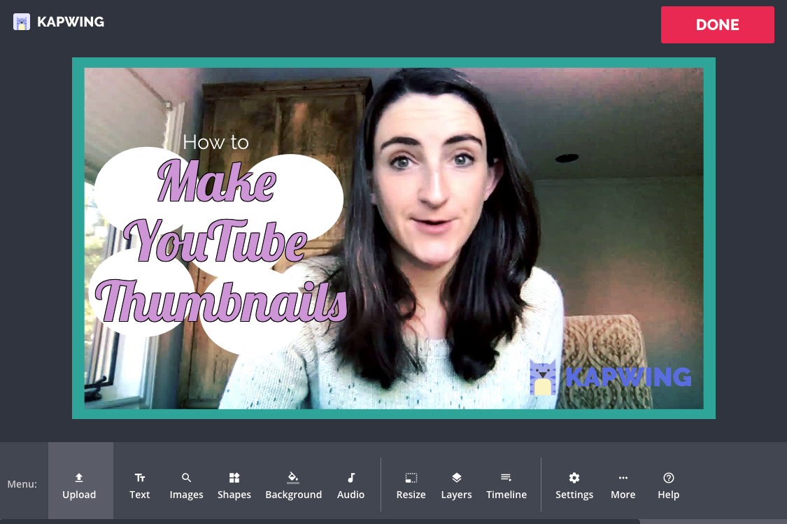 YouTube Thumbnails: How to Make a Cover Image For Your Video