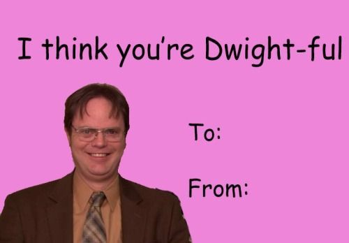 the office valentines meme