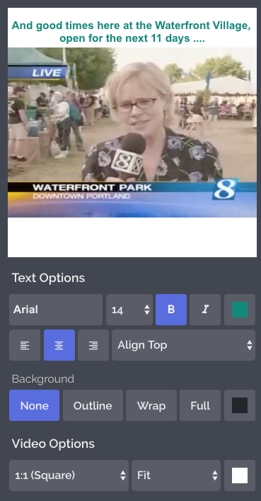 How to Add Captions to Video