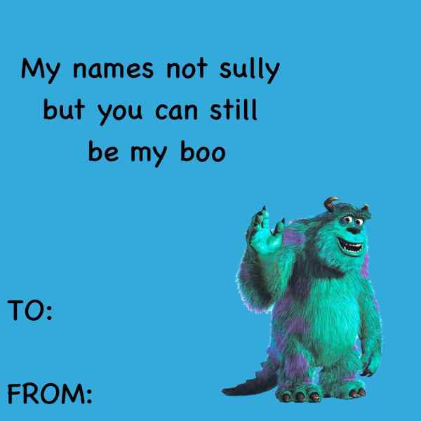 monsters inc valentine meme