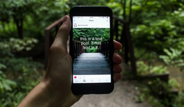 How to Make a Text Post for Instagram Cover