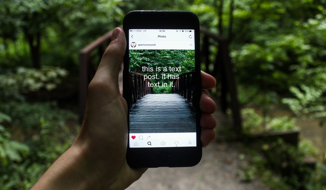 Text Posts on Instagram: How to Create your Own