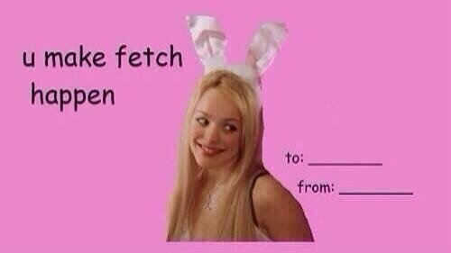 mean girls valentines meme