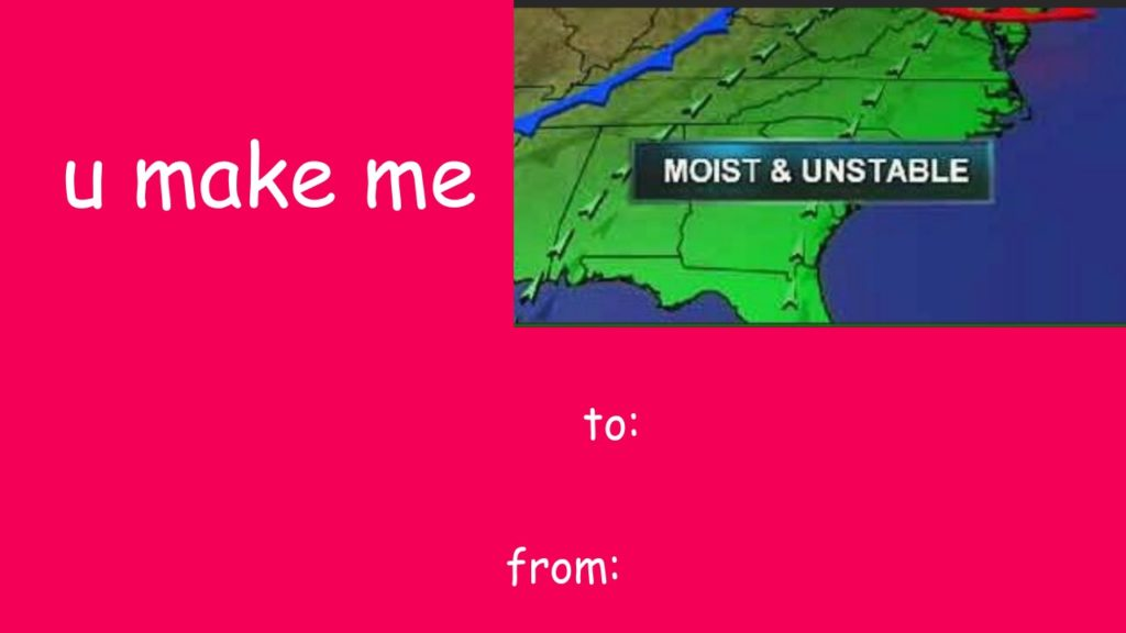 weather valentines meme
