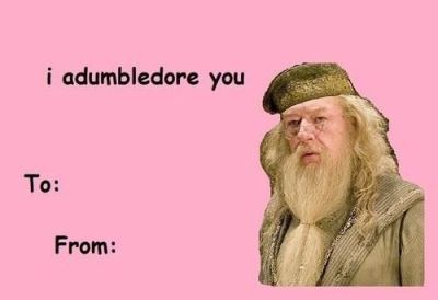 harry potter valentine meme