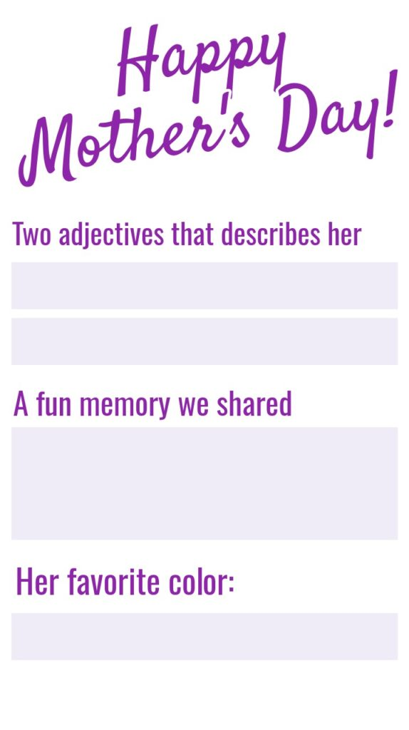 Mothers Day Instagram Story Template