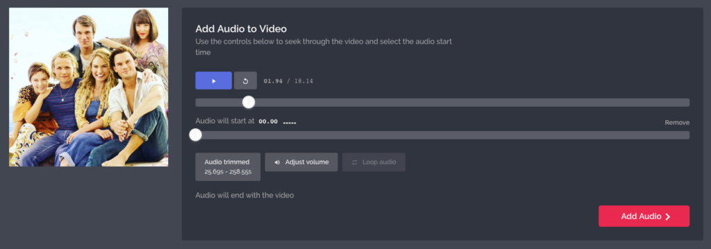 Add Audio to Video -- Flipagram with Music editor