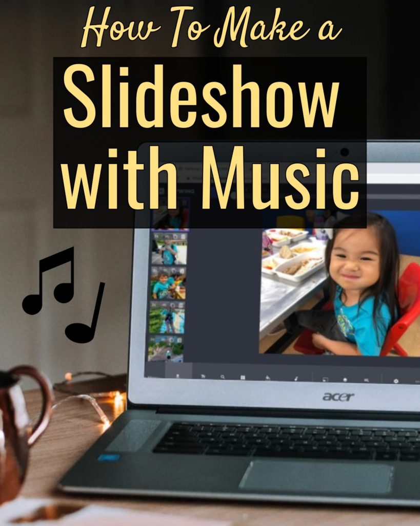 How to Make a Slideshow with Music for Free Online