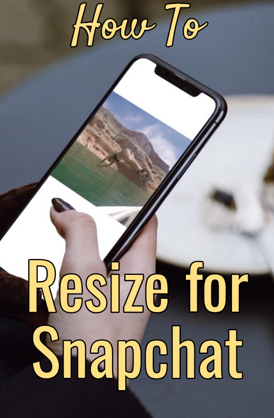 How to Resize for Snapchat - Make vertical - 9x16 - Story - video - image - social media tools free