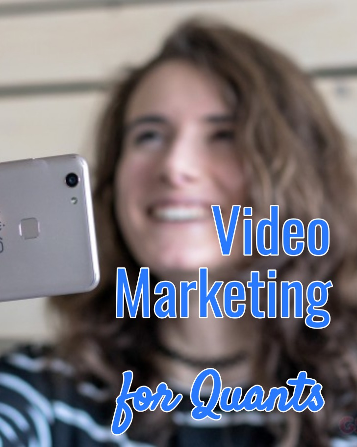 Video Marketing for Quants - Get started with video marketing - ecommerce